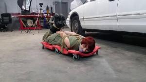 Mechanic Mayhem [2021,Bondage,Rope,BDSM][Eng]