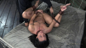 Collegian Gymnast gets roughly fucked, deep throated and made to orgasms [2013,Wenona,BDSM,Bondage,Domination][Eng]