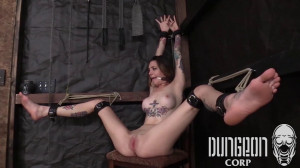 Dungeon Corp - Rocky Emerson - An Exquisite Subject part 2 [2017,Dungeon Corp,Rocky Emerson,futile struggling,inescapable bondage.,Belt Bondage][Eng]