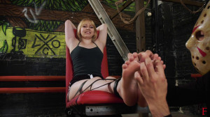 Bdsm Most Popular Intense tickling her tender soles [2020,Foot Fetish,Tickling,BDSM][Eng]