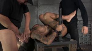 Bonnie Rotten shackled in strict device bondage [2021,BDSM][Eng]