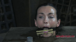 Hard bondage and torture for very horny brunette part 1 [2021][Eng]