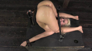 Bdsm Porn Videos Bolted into a piledriver [2014,RealTimeBondage,Cherry Torn,Humiliation,Whipping,Torture][Eng]