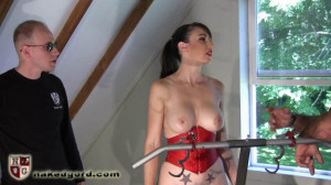 Exercise Fuck Session [2016,House of Gord,Natalie Minx,naked,gags,metal bondage][Eng]