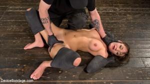 Big Tit Brat Gets Diabolic Discipline [Kink: Device Bondage,Charlotte Cross][Eng]