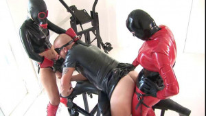 Latex Rubber - Brunette Vicious - Domination [2017,Strapon,Anilingus,Domination][Eng]