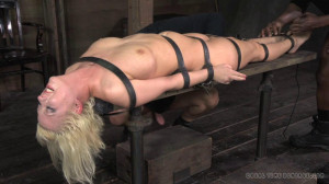 Bdsm Porn Videos  Belted down, brutal deep throat and massive orgasms [2015,RealTimeBondage,Cherry Torn,Whipping,Torture,BDSM][Eng]