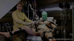 Mistress Miranda in Machine Handjob Pt 3-4 [2019][Eng]