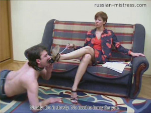 Nataly Likes Kinky Games Part 5 [Humiliation,Whipping,Femdom][Eng]