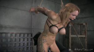 Raggedy Rain - Rain DeGrey, Jack Hammer [2014,Rope Bondage,Submission,BDSM][Eng]