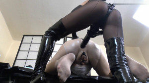 Take It Deep From Behind - From Behind [Dildo,Sissy Training,Fisting][Eng]