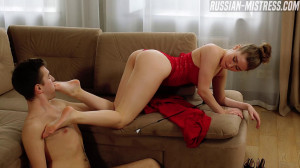Ginger Jones [Ginger Jones,Femdom,Foot Licking,Feet][Eng]