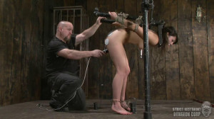 Super bondage, suspension and torture for sexy model part 1 [2019][Eng]