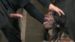 Professional bodybuilder is bound, skull fucked and made to cum [2012,Ashley Starr,Hardcore,Bondage,All Sex][Eng]