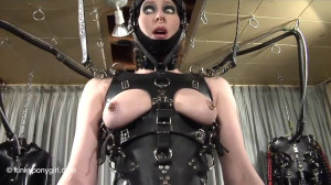 Super bondage, strappado and torture for hot sexy slave girl [2019][Eng]