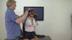 Madalynn Raye and Elizabeth Andrews - Dual Leather Strap Hogties [2021,Bondage,BDSM,Rope][Eng]
