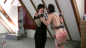 Trinty in Trouble - Part 2 [2016,House of Gord,Lola Trinity,Electrica,l Spanking,Punishment][Eng]