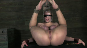 Courtney Taylor and her Huge tits endure a gauntlet of rough deep throating [2018,SB,Cool Girl,BDSM][Eng]