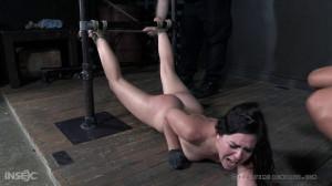 Juliette March - Manhandling March Part 1 [Spanking,Bondage,Rope Bondage][Eng]