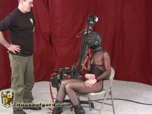 MJ - Chair Fucked [2010,electrical,cinch straps,fucking machines][Eng]