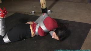HD Bdsm Sex Videos Tape Breast Bondage, and a Tight Hogtaping For Summer! Part 1 [2020,FutileStruggles,Tape Bondage ,Sweater Fetish ,Bondage ][Eng]
