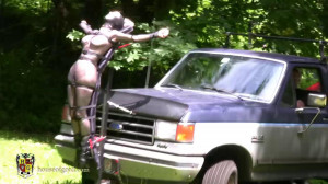 Mesh Hood Ornament [2012,ballet boots,collars,girls on/as vehicles][Eng]