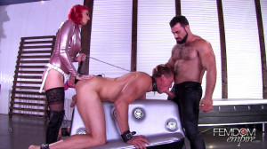 Slave to a Couple [2018,Sully Savage,Threesome,Strap-On,Blowjobs][Eng]