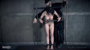 Sadistic bondage for Olive Glass [2018,Olive Glass,BDSM,Whipping,Humiliation][Eng]