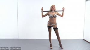 Metal Bondage Scene 629 [Eng]