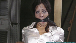 Cruel Gag after Gag for Litterbug McBitch - Part 1 [2020,Brunettes, garter and stockings, cleave gag][Eng]