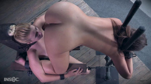 Samantha Rone and Maddy O'Reilly have a religious experience together [2017,Maddy O'Reilly,Torture,Humiliation,BDSM][Eng]