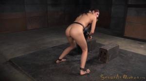 Nubile newbie Nikki Knightly bound down [Nikki Knightly,Domination,Hardcore,Bondage][Eng]