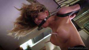 Tight bondage, strappado and torture for very horny slavegirl [2020][Eng]