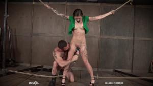 Bondage Fuck For Perfect Slave [2017,Luna Lovely,Fucking,Blowjob,Choking][Eng]