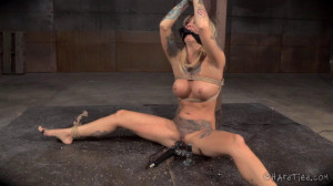Kleio Valentien and Endza Adair - Double Trouble [2015,Kleio Valentien,BDSM,Bondage,Flogging][Eng]