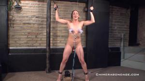 Chloe Lovette - Hogtie Crotch Rope [2021,Bondage,Rope,BDSM][Eng]