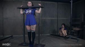 Luna LaVey (The Worst Cheerleader: Part 1) [RealTimeBondage,Luna LaVey,Torture,BDSM,Tattoo][Eng]