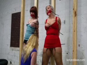 Vivienne Watches Lisa Harlotte Ziptie Sandra Silvers [2021,BDSM,Rope,Bondage][Eng]