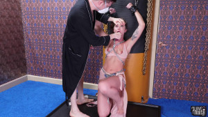 Leah in Chains [2021,Leah Winters,Breast slapping,Rough oral,Fucked-up cum games][Eng]