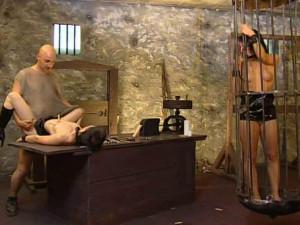 Extremely compulsory break [2009,Jens Deluxe,All Sex,Wax Play,Bondage][Eng]