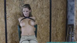 Courtney leather tryon [2021,Punishment,Bondage,Bdsm][Eng]