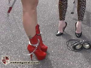 Adrianna Nicole in Training [2016,House of Gord,Adrianna Nicole/Seven/Petal,High Heels,Outdoors,Corsets][Eng]