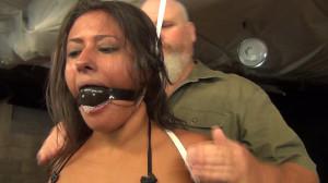 Drea Morgan: Neck up [torture,BDSM,Bondage][Eng]