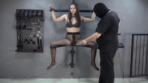 Super bondage, strappado and torture for young slavegirl [2018][Eng]