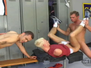 Sexy men in hot orgy