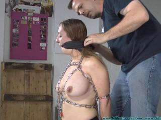 Lexi Leigh handcuffed