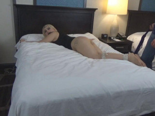 Nadia Bound Spanked and Flogged Pt 2