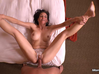Slut mom always hungry for young cock