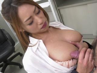 Kanna Kitayama - Stay Alone With Pretty Slut Boss In Office