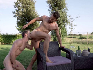 Marq Daniels Makes His Bareback Debut With James Castle HD